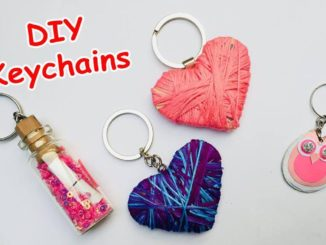 How To Make DIY Key Chains